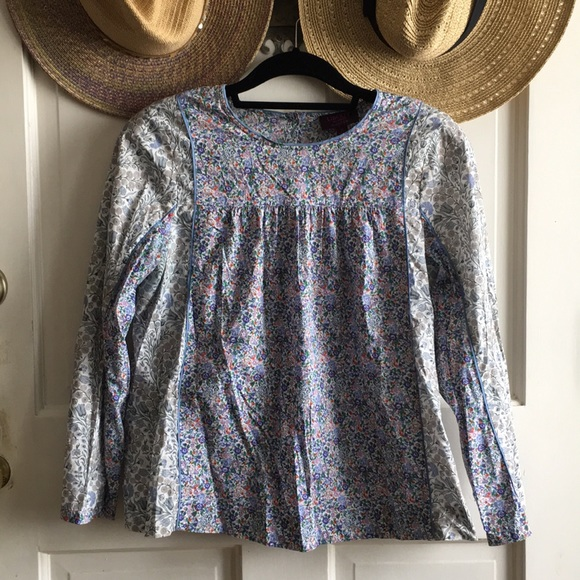 0343b3279c756 J. Crew Tops - Liberty for J.Crew Floral Blouse 💐